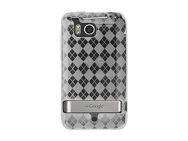 Clear TPU Crystal Silicone Skin Case for HTC ThunderBolt / Incredible HD 4G