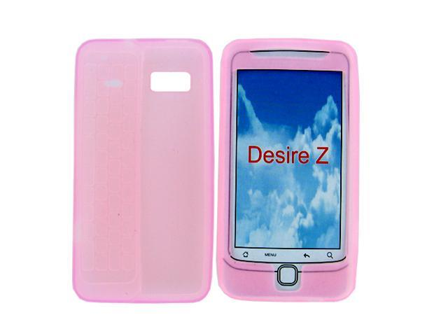 Soft Silicone Skin Case for T-Mobile G2 / Desire Z / HTC Vision