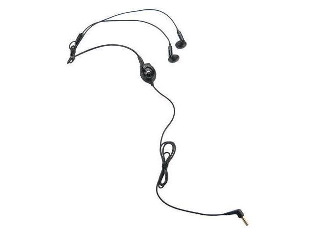 OEM LG Stereo Earbud Headset with Answer/End Button - Black