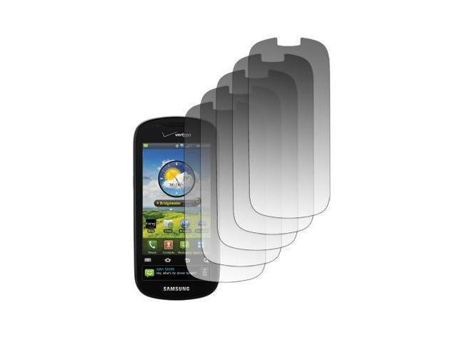 5 Pack of LCD Screen Protectors for Samsung Continuum I400