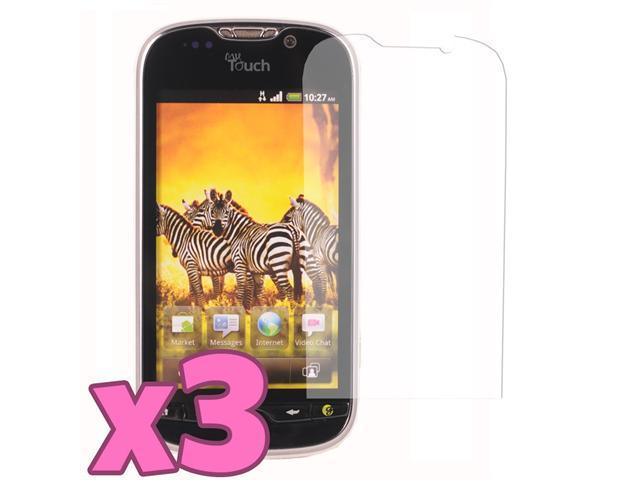 3 Pack of Mirror Screen Protector for T-Mobile HTC MyTouch 4G