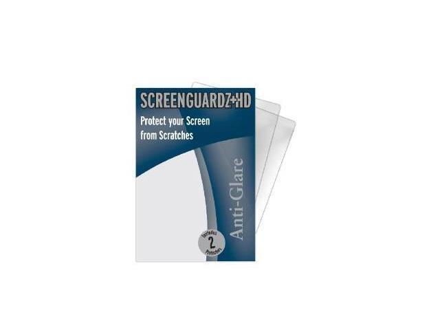 NLU ScreenGuardz HD Screen Protector 2 Pack for HTC HD2