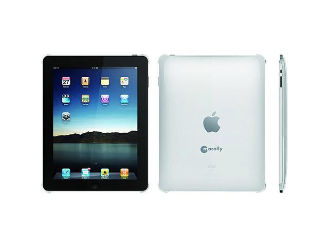 Macally Clear Protective Snap-On Hard Case with for Apple iPad