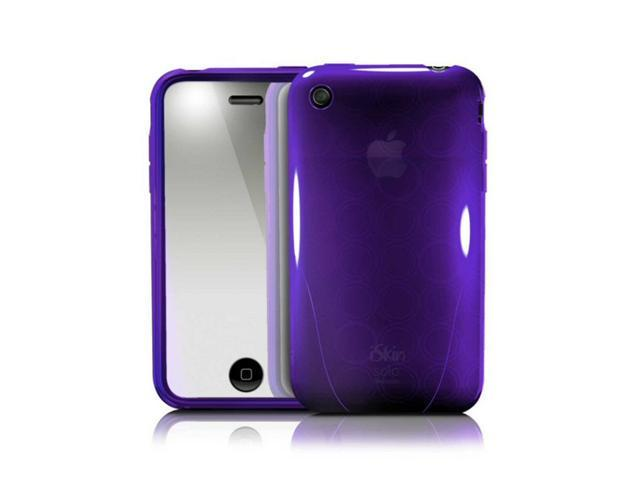 iSkin Solo FX Case for Apple iPhone 3G, Vive Purple