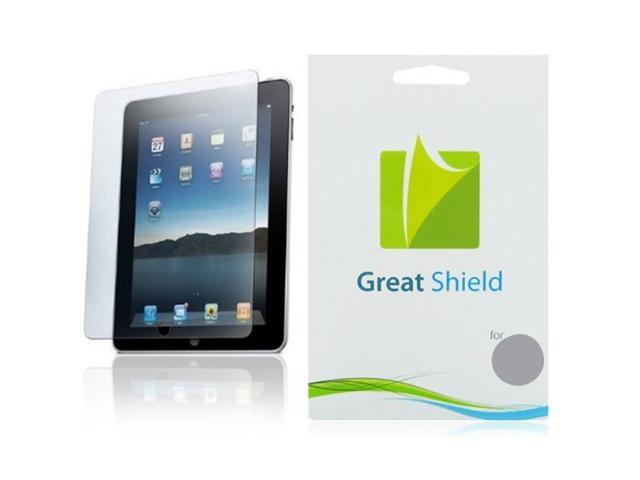 GreatShield Ultra Smooth Clear Screen Protector Film for Apple iPad 2 / 2nd Generation (3 Pack)