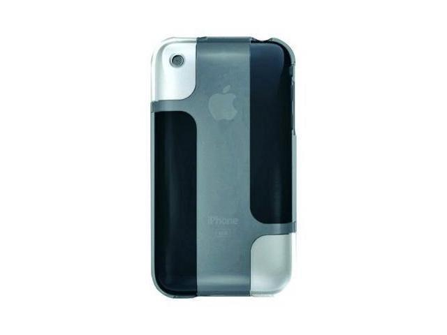 Belkin BodyGuard Hue Case for Apple iPhone 3G / 3GS (Transparent White / Gray)