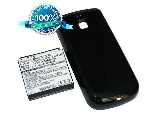 2680mAh Li-ion Extended Battery with door for T-Mobile MyTouch 3G (US)by Fosmon