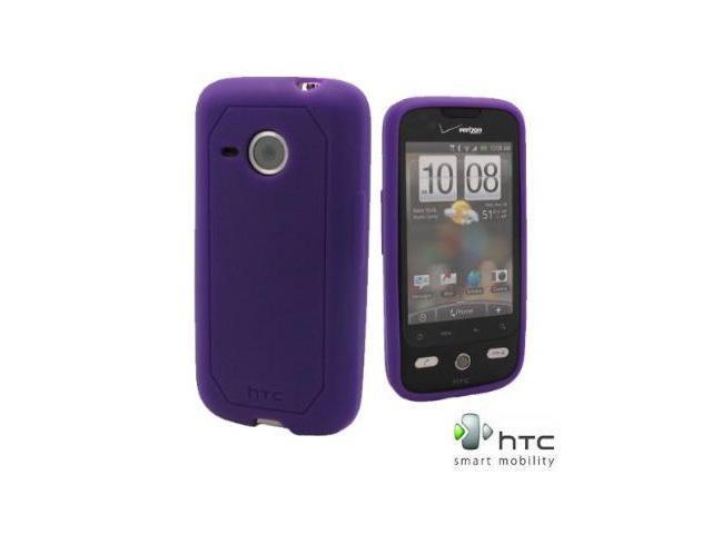 OEM HTC Soft Silicone Gel Skin for HTC Droid Eris 6200 - Purple