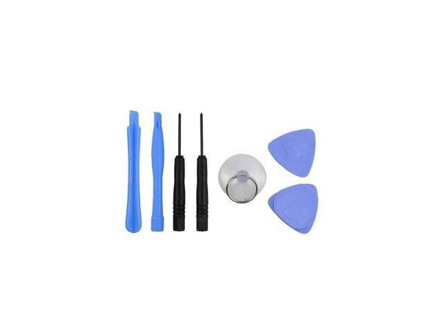 7 in 1 Tool Set (Plastic Prying Tools-green, Suction Cup, Pick, Screwdriver) for Apple iPhone / iPod / HTC / Blackberry / ...