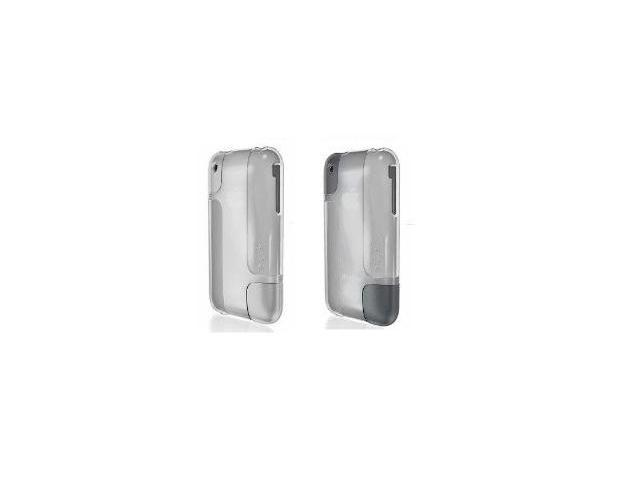 Belkin BodyGuard Hue iPhone 3G/S 3PC - Translucent White / Grey / Translucent White