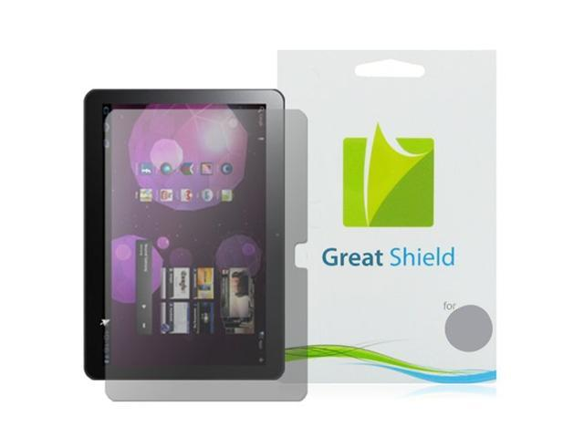 GreatShield Ultra Anti-Glare (Matte) Clear Screen Protector Film for Samsung Galaxy Tab 10.1 P7510 / Verizon Samsung SCH-I905 LTE Version Touchscreen Tablet (3 Pack)