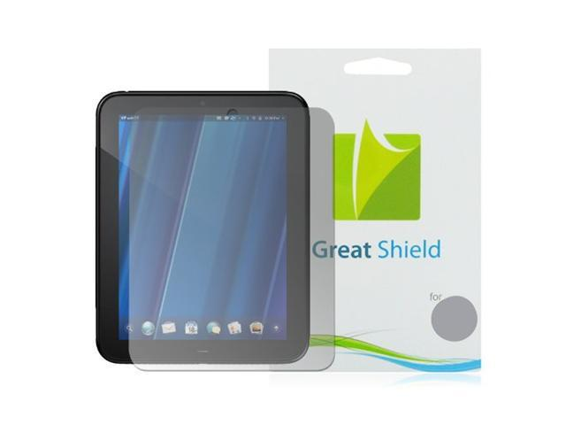 GreatShield Ultra Anti-Glare (Matte) Clear Screen Protector Film for HP Touchpad Touchscreen Tablet (3 Pack)