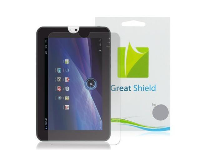 GreatShield Ultra Smooth Clear Screen Protector Film for Toshiba Thrive 10.1 Touchscreen Tablet (3 Pack)
