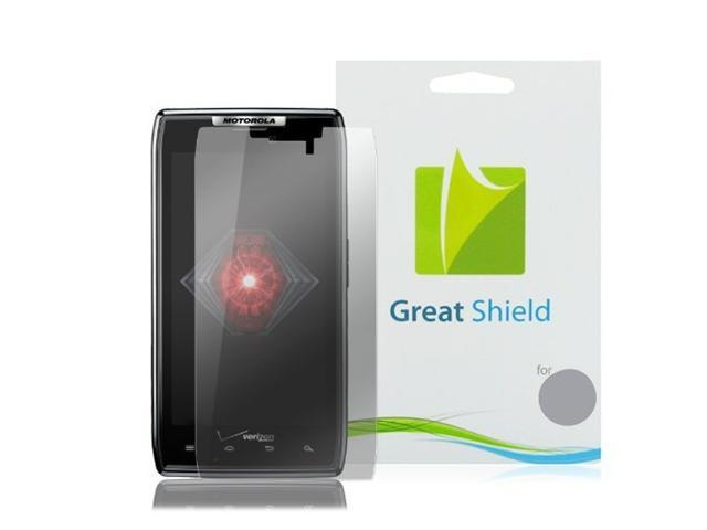 GreatShield Ultra Anti-Glare (Matte) Clear Screen Protector Film for Motorola Droid Razr XT912 (3 Pack)