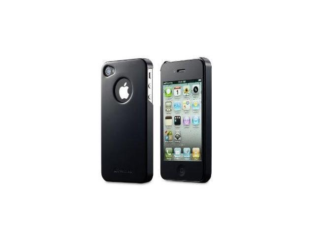 GreatShield Guardian Series Slim-Fit PolyCarbonate Hard Case for Sprint / Verizon / AT&T Apple iPhone 4 / iPhone 4S - Glossy Black