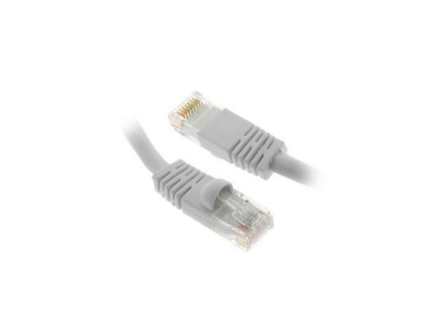 Fosmon Premium Quality 6FT Cat5e Ethernet LAN Network Cable (White)