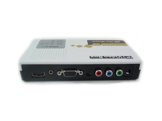 Fosmon Component video (YPbPr) / VGA To HDMI Converter With Auto Up-scale
