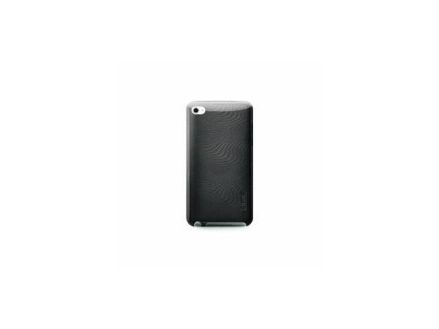 iLuv Flexi-Metallic (TPU) Case with 3D Pattern for iPod Touch 4G (Black)