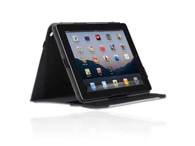 Incipio Premium Kickstand Elevated Typing Position Secure Storage For Apple Ipad 2 - Light Gray