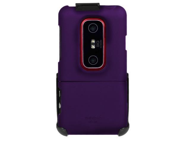 Seidio SURFACE Case/Holster Combo for HTC EVO 3D (Amethyst Purple)