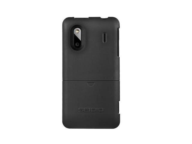 Seidio Surface Cover Protector Case for HTC EVO Design 4G - Black