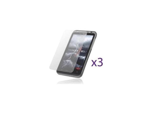 Fosmon Anti-Glare Matte Finish Screen Protector Shield for HTC ThunderBolt 4G (3 pcs pack)