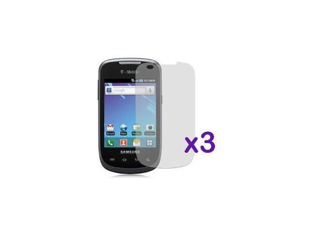 Fosmon Crystal Clear Screen Protector Shield for Samsung Dart T499 (3 Pack)