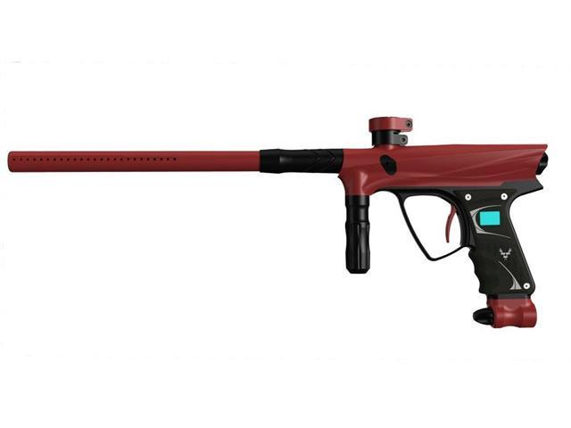 Vanguard 2012 Demon Paintball Marker - Dust Red w/ Black