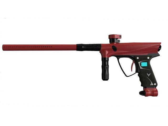 Vanguard 2012 Demon Paintball Marker - Dust Red w/ Black