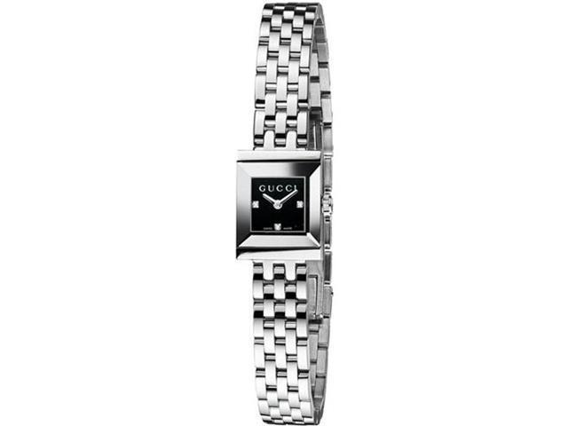 Gucci G-Frame Diamond Dial Ladies Watch YA128507