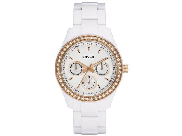 Fossil Stella Multifunction White Dial Women's watch #ES2869
