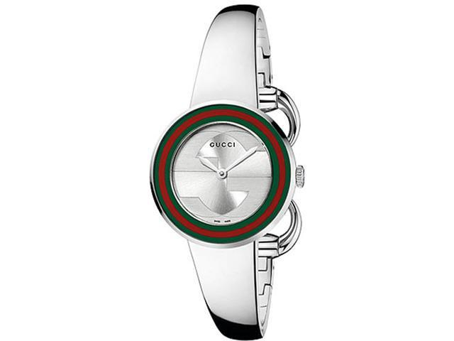 Gucci U-Play Silver Ladies Watch YA129506