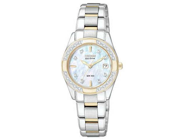Citizen Eco-Drive Diamonds Regent Mother-of-pearl Dial Women's watch #EW1824-57D