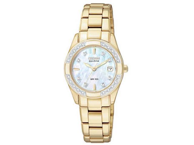 Citizen Eco-Drive Diamonds Regent Mother-of-pearl Dial Women's watch #EW1822-52D