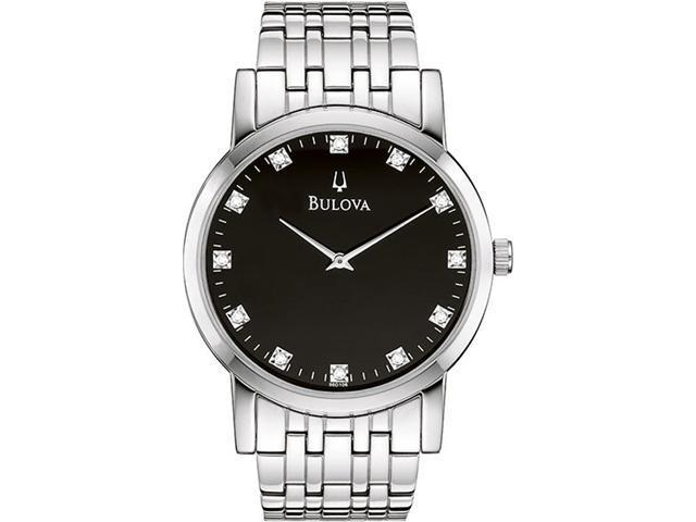 Bulova  96D106 Diamond Men's Watch