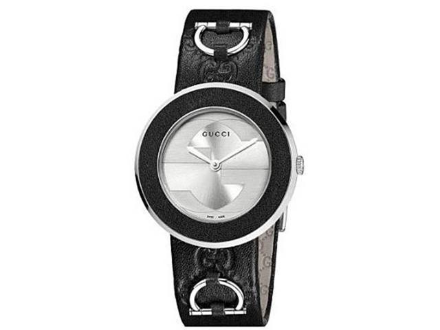Gucci U-play Silver Dial Ladies Watch YA129409