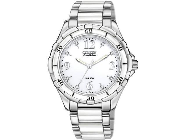Citizen EM0030-59A Ceramic White Dial