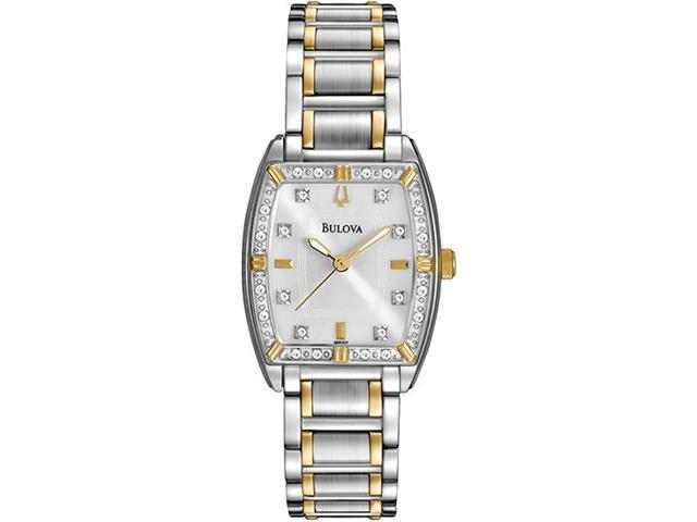 Bulova Diamonds Women's Quartz Watch 98R159