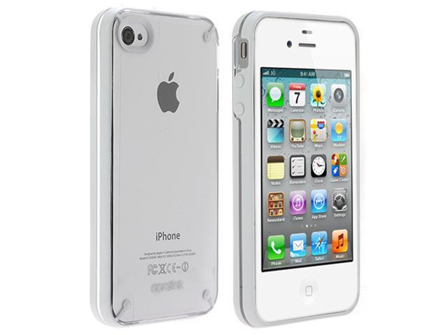Aprolink IPF-406-04 Fusion iPhone 4 / 4S Dual Shell Case - White
