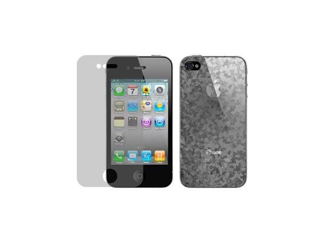 Hornettek TPU-Diamond Shield Anti-Scratch/Glare/Finger Proof Screen & Back Protection Film for iPhone 4 /4S TPU-DIAMOND