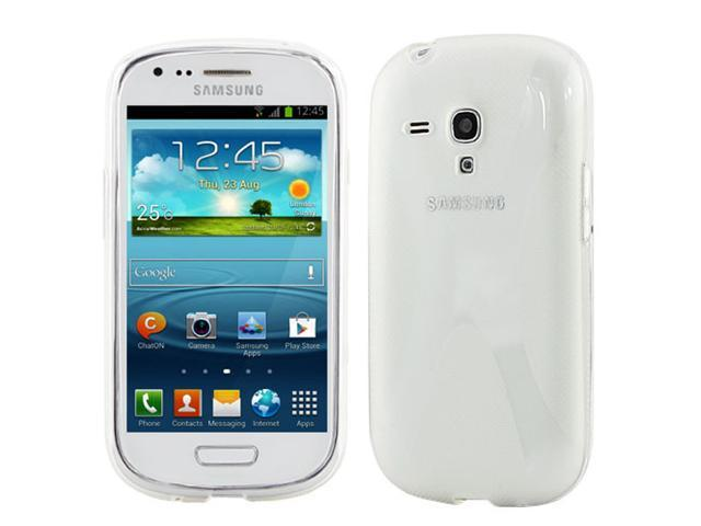 GTMax Clear X-Shape TPU Case for Samsung Galaxy S III Mini i8190/Galaxy Axiom R830