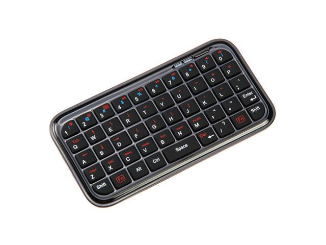 GTMax Bluetooth Wireless Mini Keyboard for Samsung Admire 4G, Series 7 XE700T1A, ATIV Smart PC Pro 700T, Galaxy Stratosphere II SCH-i415, Galaxy S III Mini i8190, Galaxy Note 2 II N7100
