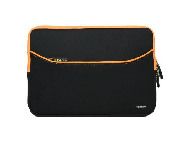"Evecase Neoprene Zipper Carrying Case with Accessory Pocket Perfect Fit for Dell Latitude E7240-12.5"" / ASUS Chromebooks ..."