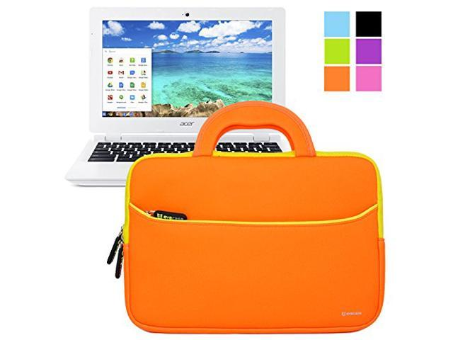 Evecase UltraPortable Handle Carrying Portfolio Neoprene Sleeve Case Bag for Acer Chromebook 11 CB3-111-C670/ C720P / C720 ...