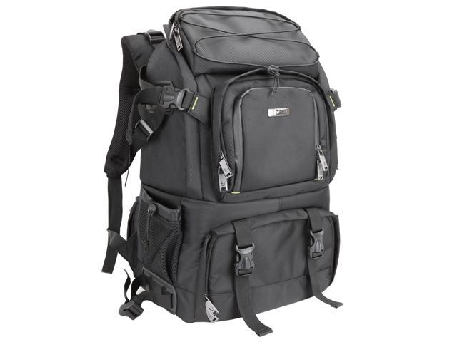 Evecase Extra Large DSLR Camera/Laptop Travel Backpack Gadget Bag ...