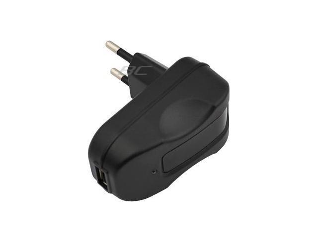 GTMax EU USB Travel Charger (2100mA) - Black