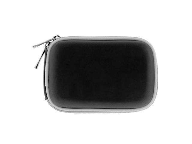 GTMax Premium Digital Camera Zipper Eva Pouch Carrying Case -Black for Canon PowerShot PowerShot SD890 IS