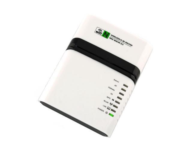 EZOWare Portable 3G Wireless N (802.11n) Mobile WiFi Hotspot Mini Pocket Travel Router