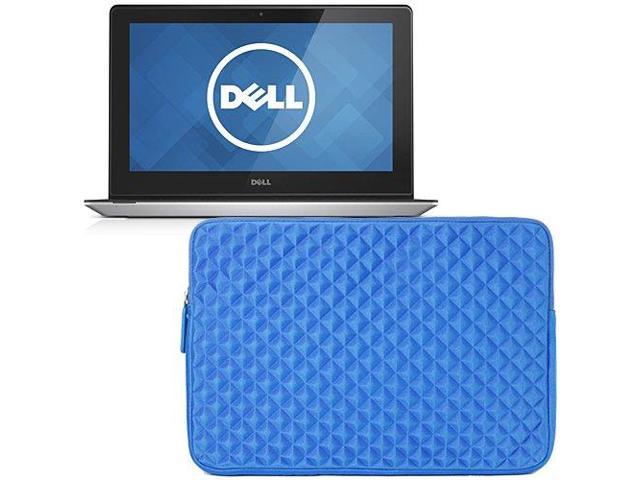 Evecase Blue Diamond Foam Shockproof Sleeve Case Bag for Dell Inspiron 11 3000 Series / Dell Venue 11 Pro Laptop / Tablet