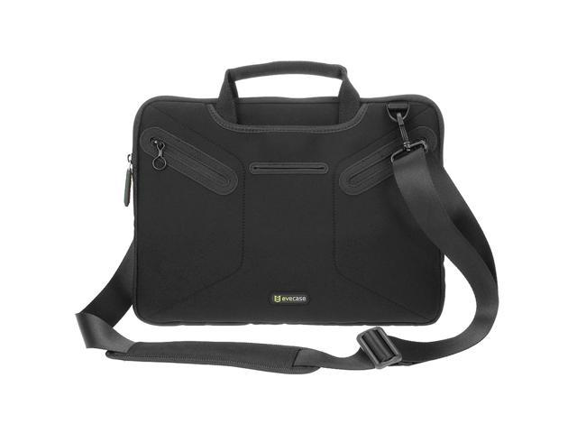 Evecase Multi-functional Neoprene Messenger Case Tote Bag for Apple MacBook Pro 13-inch with Retina Display / MacBook Air 13-inch Laptop